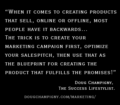 Create Your Marketing First