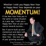Momentum: Happy New Year or Happy Next Year?